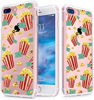 True Color Clear Shield Movie Time Collection Popcorn & Tickets For iPhone 7 Plus