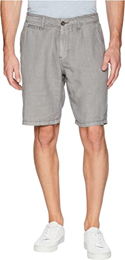 Laguna Linen Flat Front Shorts
