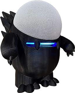 Suporte Splin de Mesa compatível com Echo Dot 4 modelo Dino Echosaurus (preto)