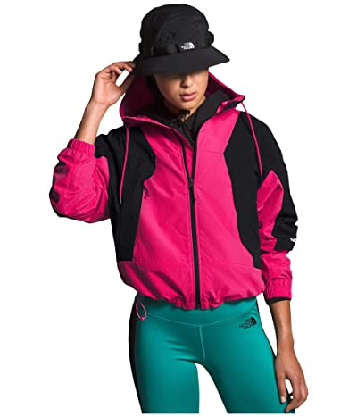 The North Face Peril Wind Jacket (Mr. Pink/TNF Black) Women