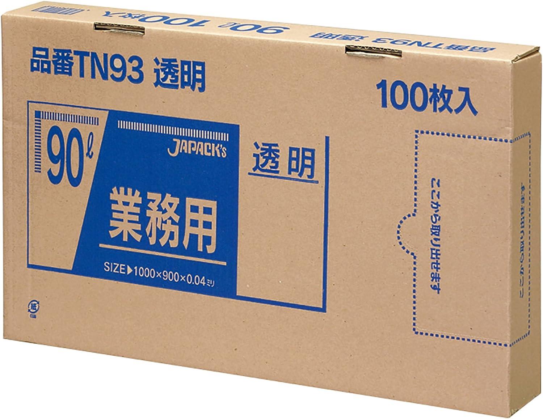 【マラソンでポイント最大43.5倍】【同梱・き】ジャパックス LD規格袋 厚み0.020mm No.18 ひも付き 透明 100枚×5冊×5箱 KR18