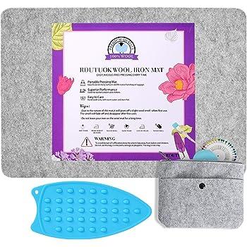 "Wool Ironing Mat Pressing Pad High Temperature Ironing Board Felt Pad 1//2/"" Thick"