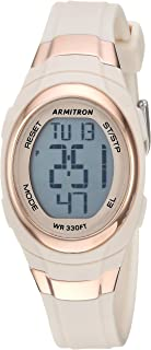 Armitron Sport Women's 45/7034 Digital Chronograph Resin Strap Watch