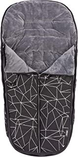 Diono All Weather Footmuff to Protect Your Baby in Car Seats & Strollers, Black Platinum