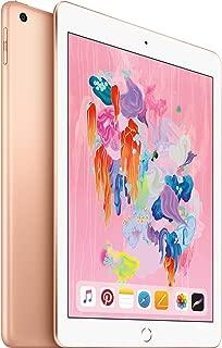 Apple iPad 9.7in 6th Generation WiFi (32GB, Gold) (Renewed)