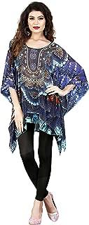 ARYAN ENTERPRISE Woman's Multi Colors Digital Printed Kaftan