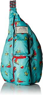 KAVU Rope Pack Backpack, Aqua Wingman, One Size