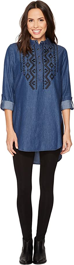 Roper 1313 5 Oz Indigo Denim Tunic