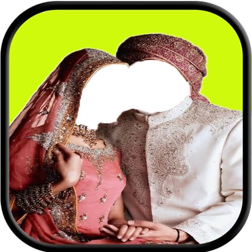 Indian Wedding Couple Photo Suit