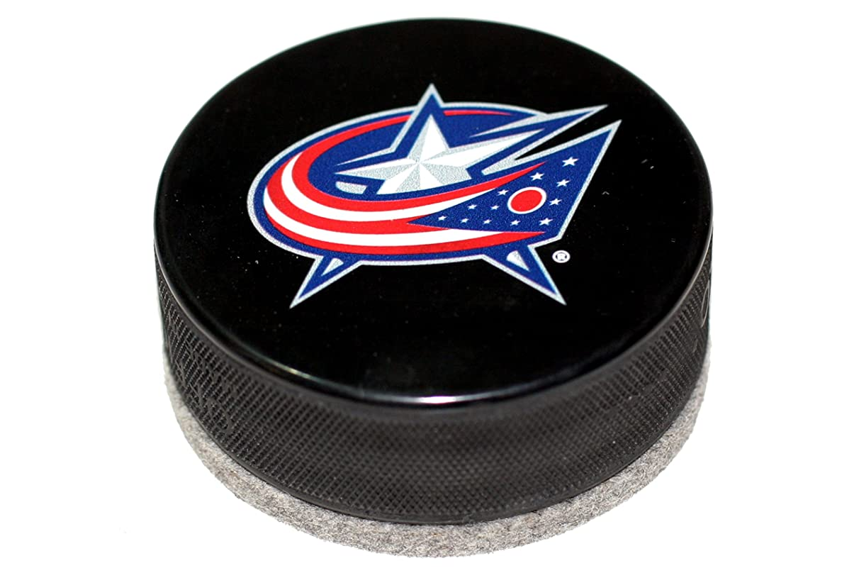 EBINGERS PLACE Columbus Blue Jackets Basic Series Hockey Puck Board Eraser for Chalk Boards and Whiteboards