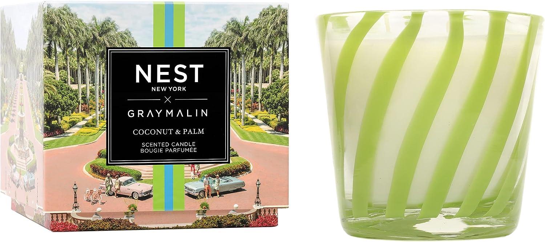 NEST Max 78% OFF Fragrances Coconut Palm x Candle Gray Superlatite 3-Wick Malin