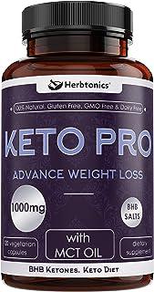 Keto BHB Pills - Ketosis Supplement to Burn Fat Fast - Ketogenic Diet Carb Blocker Best Keto Diet Pills for Women and Men