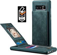 Spaysi Samsung Galaxy Note 8 Card Holder Case, Note8 Wallet Case (TM) Slim, Galaxy Note 8 Folio Leather case, Flip Cover, Gift Box, for Note 8 (Blue)