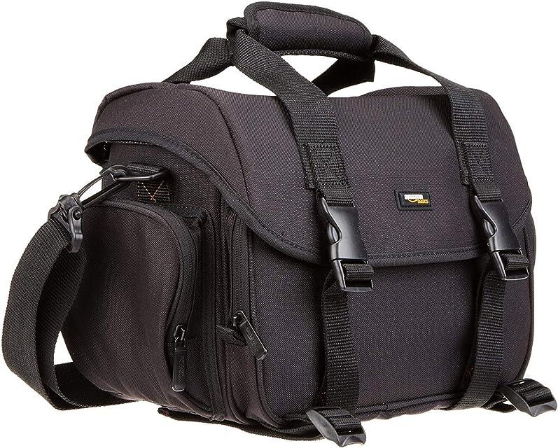 AmazonBasics - Bolsa para cámaras DSLR y Accesorios (tamaño Grande) Negro