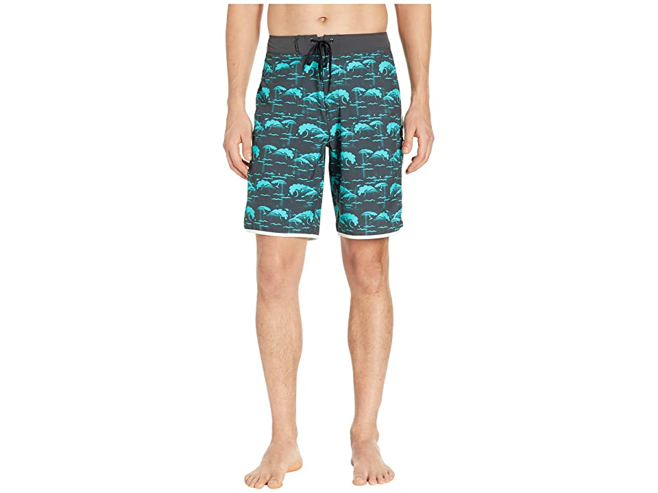 Hurley Phantom Oak Street 20 Boardshorts (Anthracite) Men