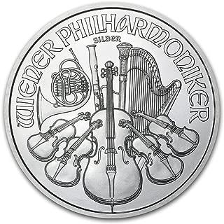 2015 AT Austria 1 oz Silver Philharmonic BU 1 OZ Brilliant Uncirculated