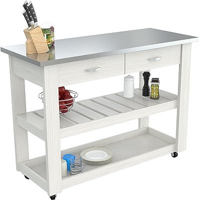 Inval CR-1307 Mobile Kitchen Carts, Laricina