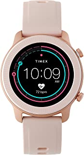 Metropolitan R AMOLED Smartwatch with GPS & Heart Rate 42mm – Rose Gold-Tone with Blush Silicone Strap