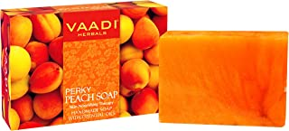 Vaadi Herbals Perky Peach Soap with Almond Oil, 75g