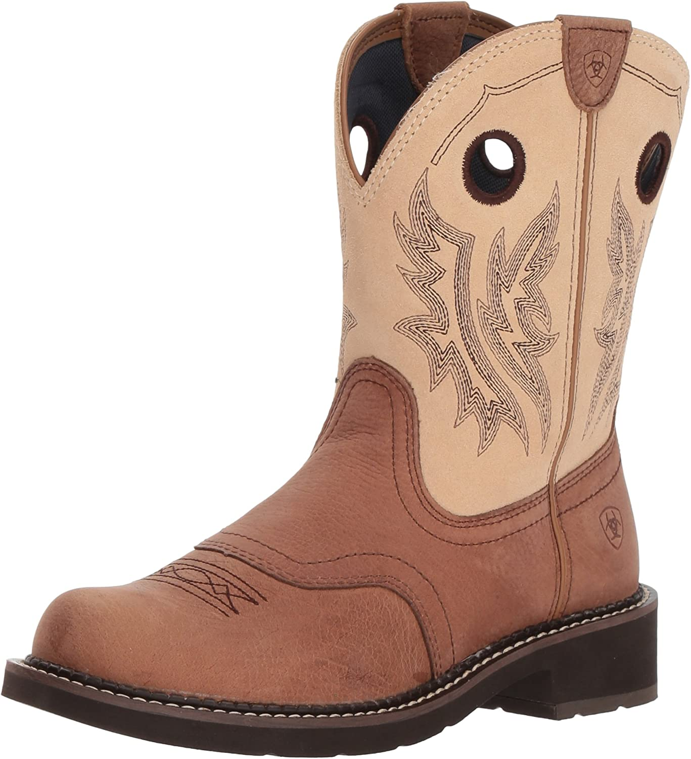 ARIAT Kvinnors Fatbebis Heritage Cowgirl Western Boot