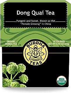 Buddha Teas Organic Dong Quai Root Tea | 18 Bleach-Free Tea Bags | Anti-Inflammatory | Immune Stimulating | No Caffeine