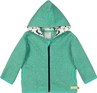 loud + Proud 中性款婴儿夹克混色针织*棉,GOTS 认证运动夹克