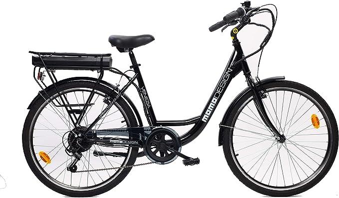 MOMO Design Venezia - Bicicleta eléctrica con pedaleo asistido