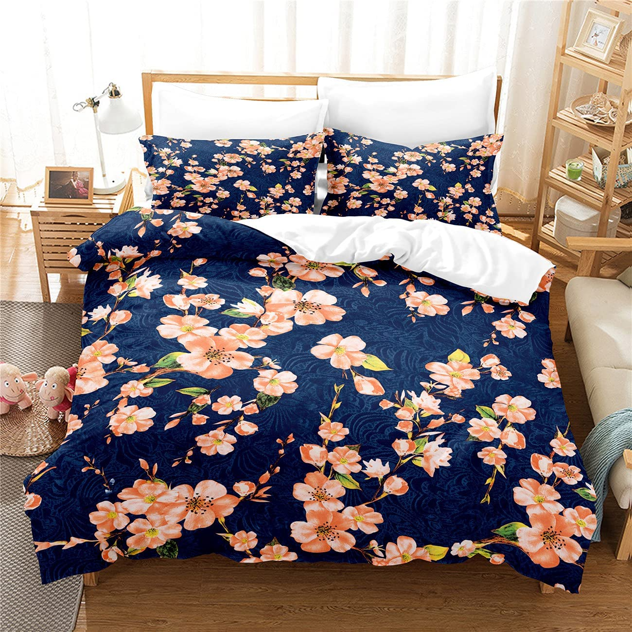 MANXI Flower Printing Double Quilt 2021new shipping free shipping Decorative Cover Bedroom National products Bed