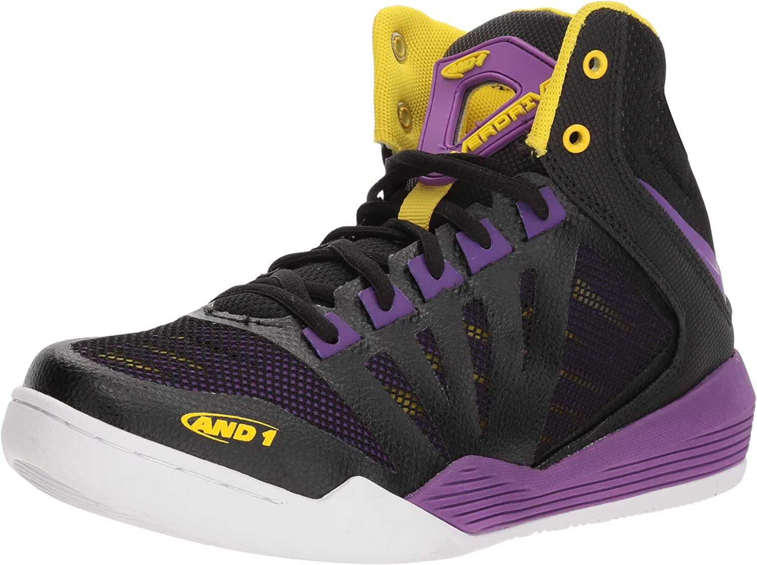 AND1 Womens D2013W-BUY Overdrive Purple Size