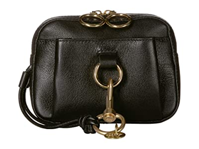 See by Chloe Mini Tony Belt Bag Suede (Black) Handbags