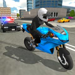 Huge open world bike simulator filled with wide open roads and traffic to play with Available to play on Android TV Unlock new fast motorbikes as you play Fun and realistic motorbike driving game physics High quality vehicles through the cities Multi...