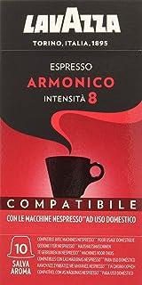 comprar comparacion Lavazza Cápsulas de Café Compatibles Nespresso Espresso Armonico, Paquetes de 10 x 10 Cápsulas (Total: 100 Cápsulas)