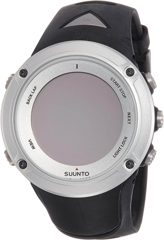 Suunto Unisex-Erwachsene Sport Watch AMBIT2 HR Silber