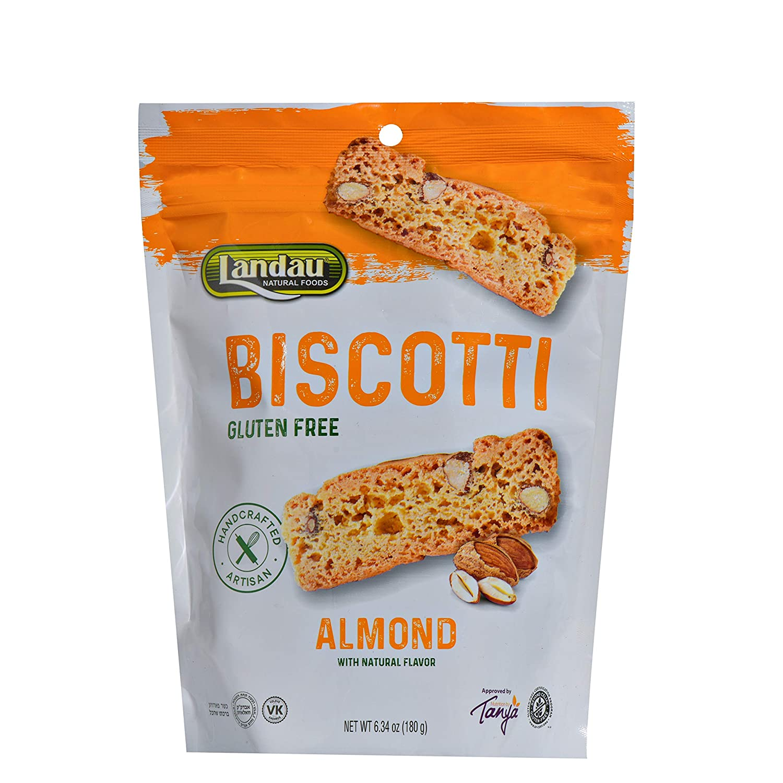 Landau Weekly update Biscotti Almond 6.3 Free oz overseas Gluten
