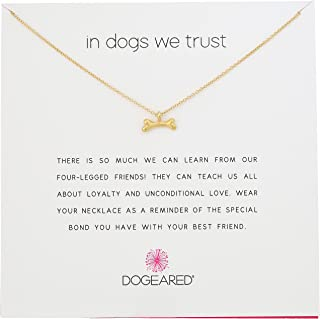 Best dogeared dog bone necklace Reviews