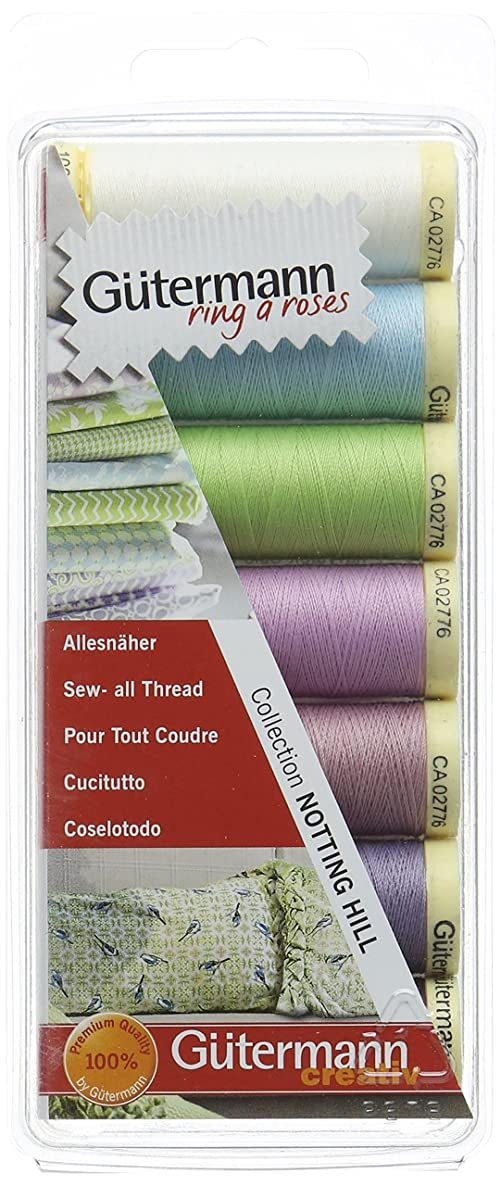 Gutermann 731102/3 | Cool Notting Hill Polyester Sew-All Sewing Thread 100m x 7 bqgmjilskgfgz6