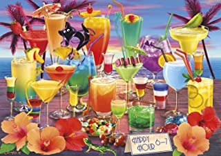 Buffalo Games - Vivid Collection - Happy Hour - 300 Large Piece Jigsaw Puzzle, Multi