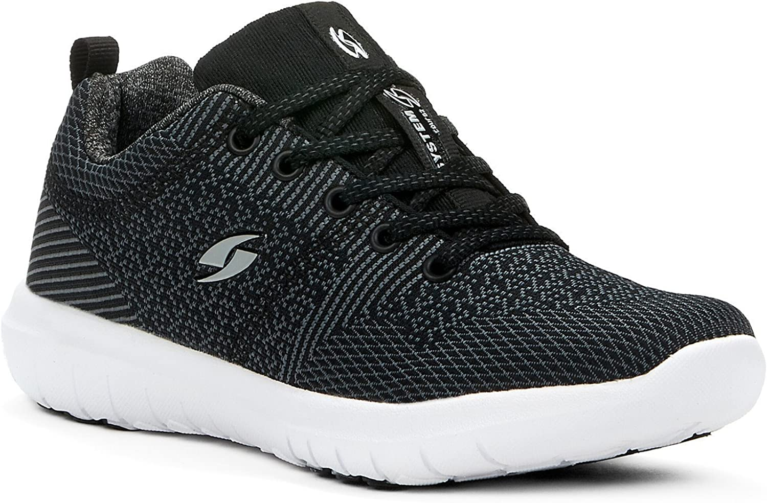 Crosslite Womens Walking shoes - Lightweight & Breathable & Casual & Comfortable - Made from Knitted Textile Fabric - Perfect for Spring Summer Fall Winter
