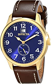 Invicta Men's 15514 I-Force Analog Display Japanese Quartz Brown Watch