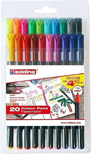 Rotuladores Edding 1200 De Colores