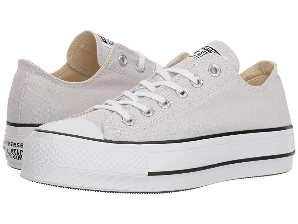 Converse Chuck Taylor(r) All Star(r) Lift Ox (Mouse/White/Black) Women