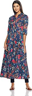 Biba Women's Blue Cotton Dress Size 34