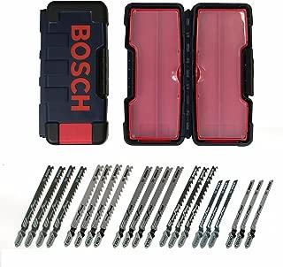 Bosch TW21HC 21-Piece T-Shank Woodworking Jig Saw Blade Set