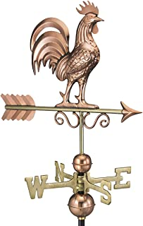 Good Directions Bantam Rooster Weathervane, Pure Copper