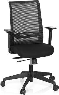 hjh OFFICE Chaises de Bureau, Noir, 65 x 54 x 108