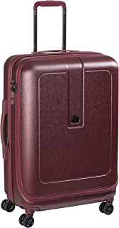 Delsey Paris Grenelle 70 cm 4 Double Wheels Expandable Trolley Suitcase (Hardside) Red (00203982004)