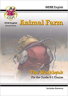 Grade 9-1 GCSE English - Animal Farm Workbook (includes Answers)