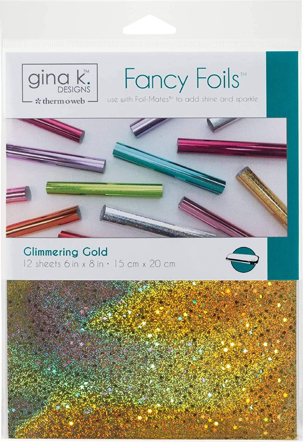 Gina K. Designs for Therm O Web Fancy Foil, 6
