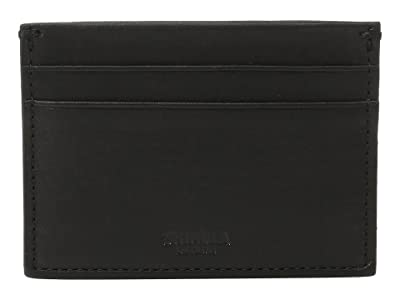 Shinola Detroit Five-Pocket Card Case (Black) Wallet Handbags