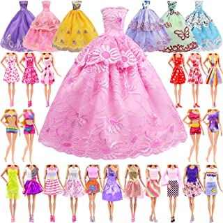 ZITA ELEMENT 25 Pcs 11.5 Inch Girl Doll Clothes Outfits...